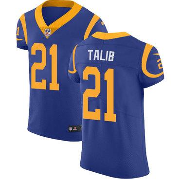 Nike Rams #21 Aqib Talib Royal Blue Alternate Men's Stitched NFL Vapor Untouchable Elite Jersey