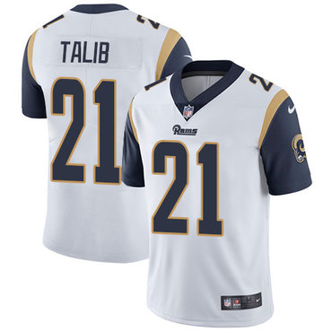 Nike Rams #21 Aqib Talib White Youth Stitched NFL Vapor Untouchable Limited Jersey