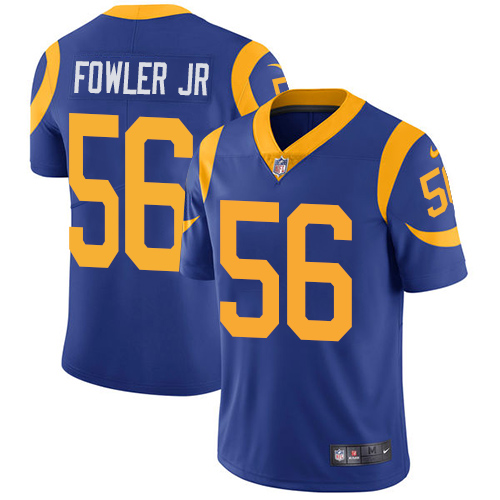 Nike Rams #56 Dante Fowler Jr Royal Blue Alternate Men's Stitched NFL Vapor Untouchable Limited Jersey