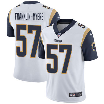 Nike Rams #57 John Franklin-Myers White Men's Stitched NFL Vapor Untouchable Limited Jersey