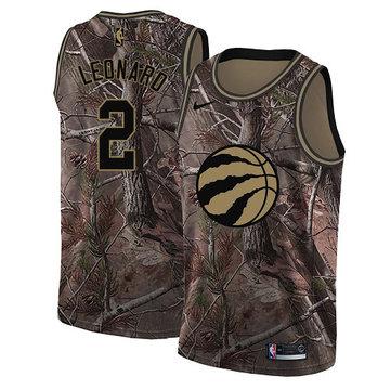 Nike Raptors #2 Kawhi Leonard Camo Women's NBA Swingman Realtree Collection Jersey