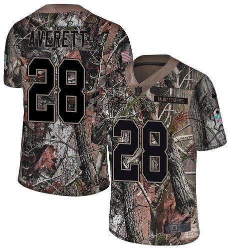 Nike Ravens #28 Anthony Averett Camo Men's Stitched NFL Limited Rush Realtree Jersey