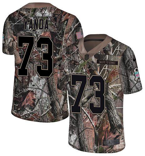Nike Ravens #73 Marshal Yanda Camo Men's Stitched NFL Limited Rush Realtree Jersey
