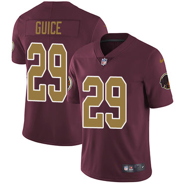 Nike Redskins #29 Derrius Guice Burgundy Red Alternate Youth Stitched NFL Vapor Untouchable Limited Jersey