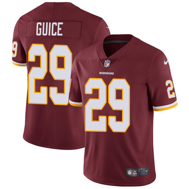 Nike Redskins #29 Derrius Guice Burgundy Red Team Color Youth Stitched NFL Vapor Untouchable Limited Jersey