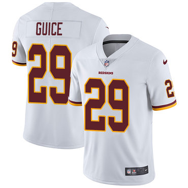 Nike Redskins #29 Derrius Guice White Youth Stitched NFL Vapor Untouchable Limited Jersey