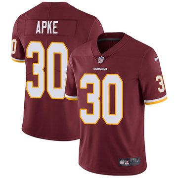 Nike Redskins #30 Troy Apke Burgundy Red Team Color Men's Stitched NFL Vapor Untouchable Limited Jersey