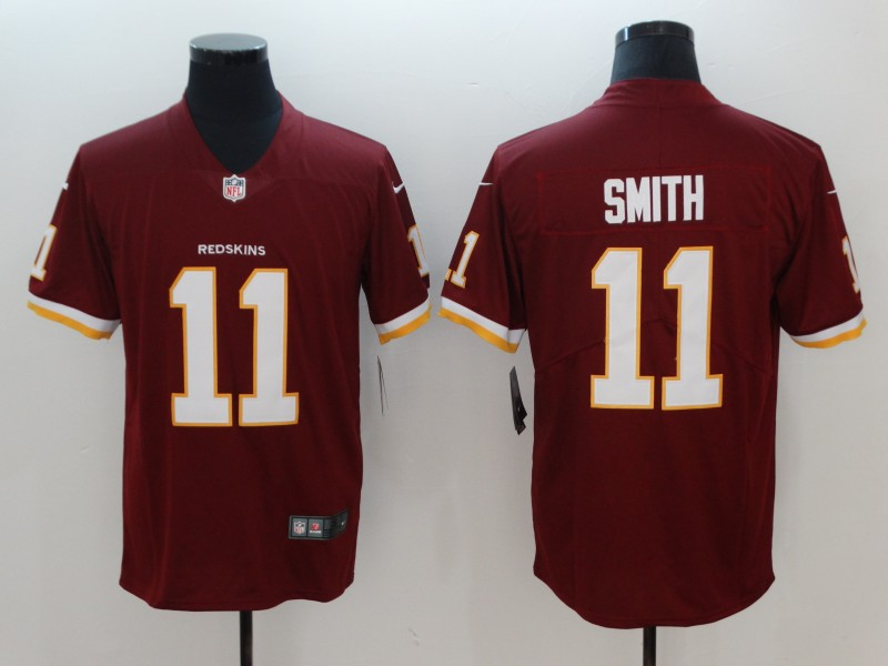 Nike Redskins 11 Alex Smith Red Vapor Untouchable Limited Jersey