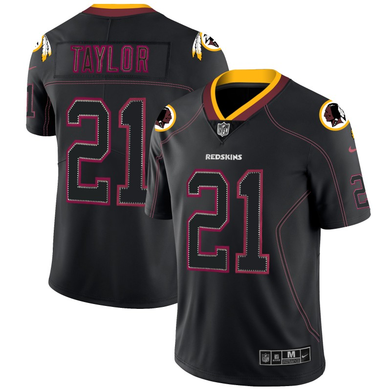 Nike Redskins 21 Sean Taylor Black Shadow Legend Limited Jersey