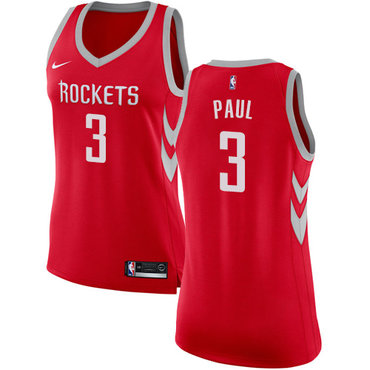 Nike Rockets #3 Chris Paul Red Women's NBA Swingman Icon Edition Jersey