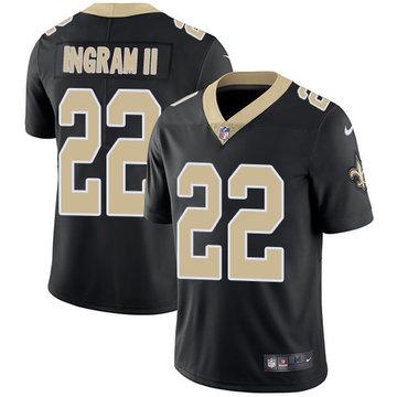Nike Saints #22 Mark Ingram II Black Team Color Stitched NFL Vapor Untouchable Limited Jersey