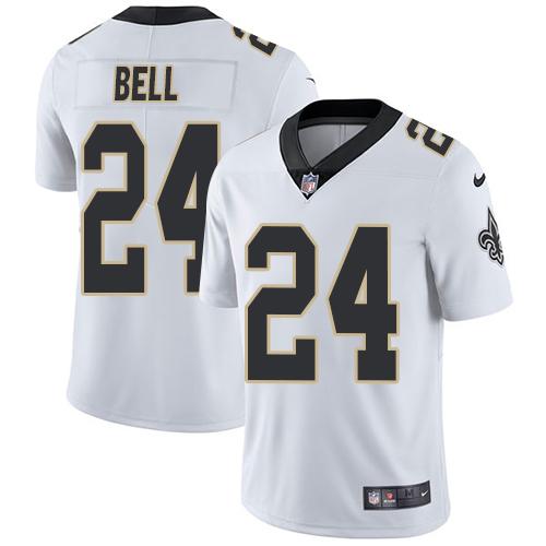 Nike Saints #24 Vonn Bell White Men's Stitched NFL Vapor Untouchable Limited Jersey