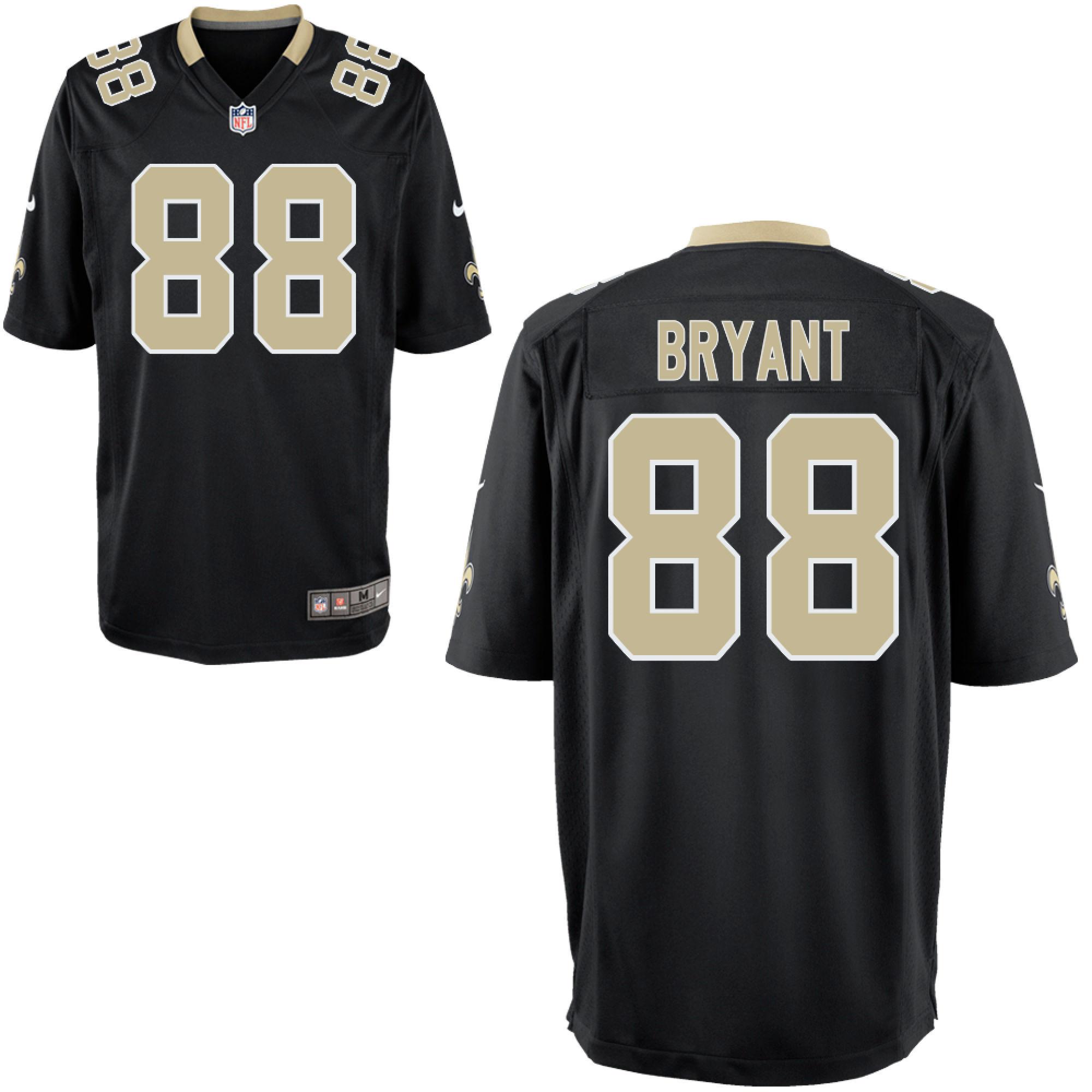 Nike Saints #88 Dez Bryant Black Team Color Men's Stitched NFL Vapor Untouchable Limited Jersey