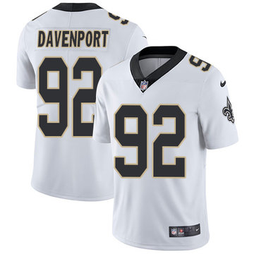 Nike Saints #92 Marcus Davenport White Youth Stitched NFL Vapor Untouchable Limited Jersey
