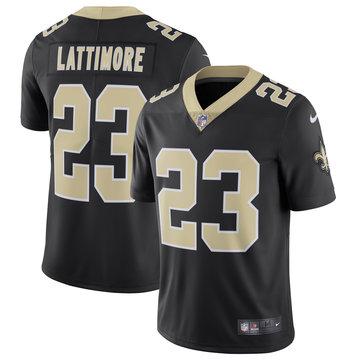 Nike Saints 23 Marshon Lattimore Black Vapor Untouchable Limited Jersey