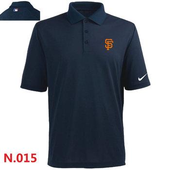 Nike San Francisco Giants 2014 Players Performance Polo -Dark biue