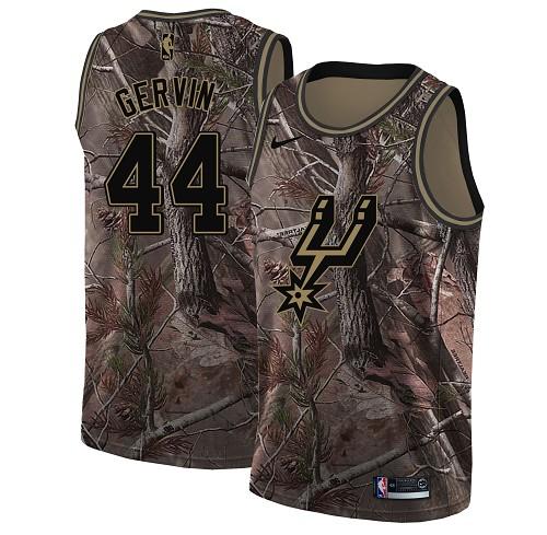 Nike Spurs #44 George Gervin Camo NBA Swingman Realtree Collection Jersey