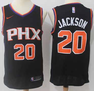 Nike Suns #20 Josh Jackson Black NBA Swingman Statement Edition Jersey