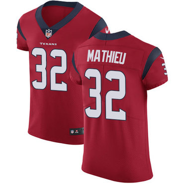 Nike Texans #32 Tyrann Mathieu Red Alternate Men's Stitched NFL Vapor Untouchable Elite Jersey