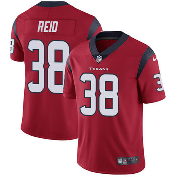 Nike Texans #38 Justin Reid Red Alternate Men's Stitched NFL Vapor Untouchable Limited Jersey