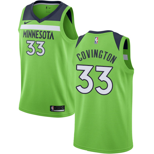 Nike Timberwolves #33 Robert Covington Green NBA Swingman Statement Edition Jersey