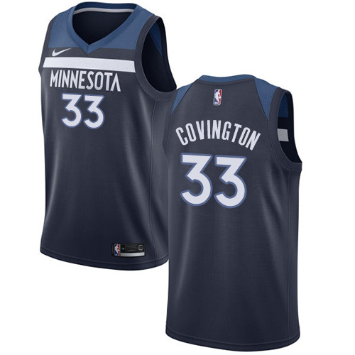Nike Timberwolves #33 Robert Covington Navy Blue NBA Swingman Icon Edition Jersey