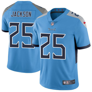 Nike Titans #25 Adoree' Jackson Light Blue Team Color Youth Stitched NFL Vapor Untouchable Limited Jersey