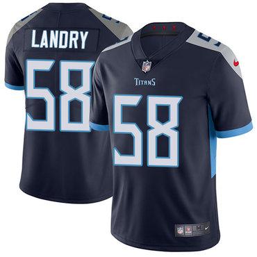 Nike Titans #58 Harold Landry Navy Blue Alternate Youth Stitched NFL Vapor Untouchable Limited Jersey