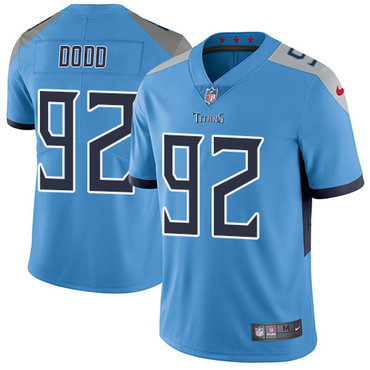 Nike Titans #92 Kevin Dodd Light Blue Team Color Men's Stitched NFL Vapor Untouchable Limited Jersey