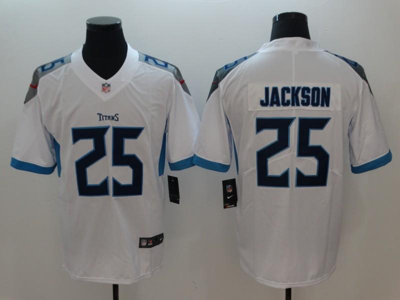 Nike Titans 25 Adoree' Jackson White New 2018 Vapor Untouchable Limited Jersey