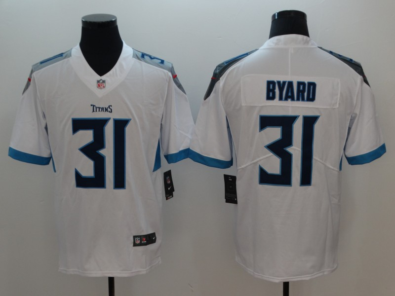 Nike Titans 31 Kevin Byard White Youth New Vapor Untouchable Player Limited Jersey