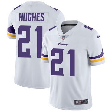 Nike Vikings #21 Mike Hughes White Youth Stitched NFL Vapor Untouchable Limited Jersey