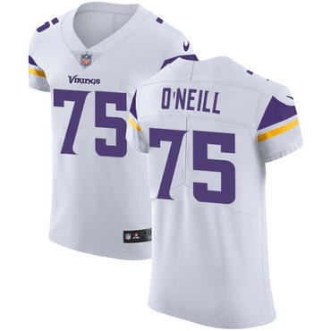 Nike Vikings #75 Brian O'Neill White Men's Stitched NFL Vapor Untouchable Elite Jersey