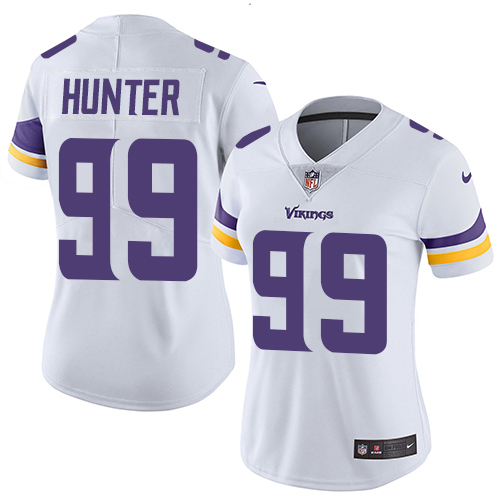 Nike Vikings #99 Danielle Hunter White Women's Stitched NFL Vapor Untouchable Limited Jersey