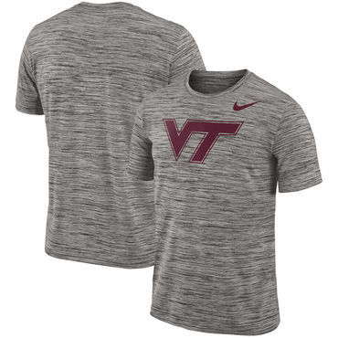 Nike Virginia Tech Hokies 2018 Player Travel Legend Performance T Shirt