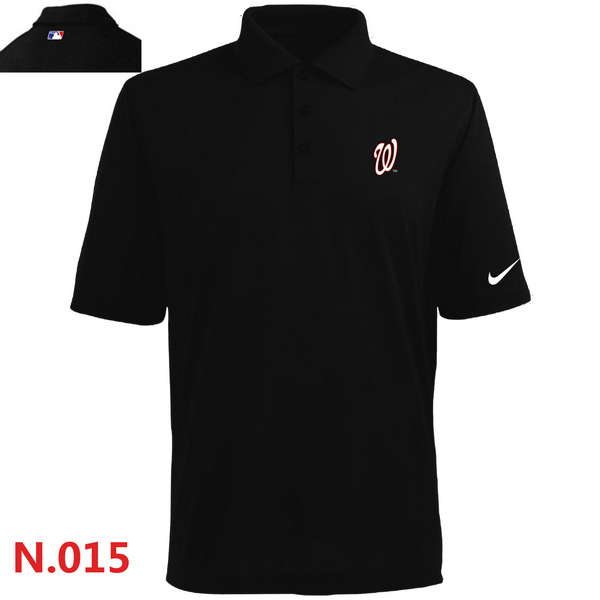 Nike Washington Nationals 2014 Players Performance Polo -Black