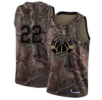 Nike Wizards #22 Otto Porter Camo Youth NBA Swingman Realtree Collection Jersey