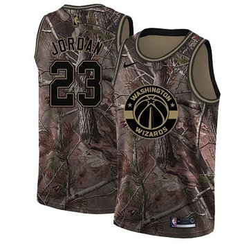Nike Wizards #23 Michael Jordan Camo Women's NBA Swingman Realtree Collection Jersey