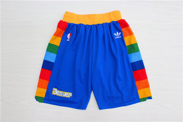 Nuggets Blue Hardwood Classics Shorts