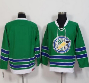 Oakland Seals Blank Green CCM Throwback Stitched NHL Jersey