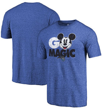 Orlando Magic Fanatics Branded Royal Disney Rally Cry Tri-Blend T-Shirt