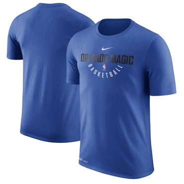 Orlando Magic Nike Practice Performance T-Shirt Blue