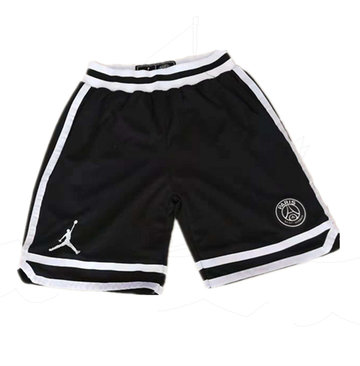 Paris Saint-Germain Black Jordan Shorts