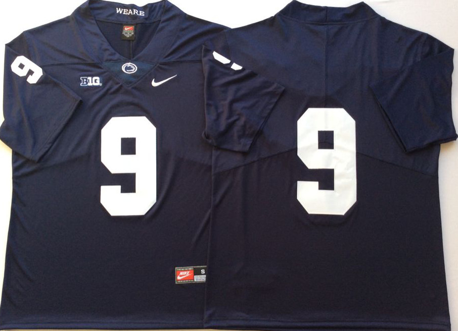 Penn State Nittany Lions 9 Trace McSorley Navy Nike College Football Jersey