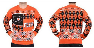 Philadelphia Flyers Men's NHL Ugly Sweater-1