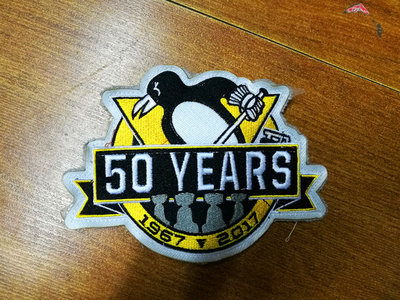 Pittsburgh Penguins 1967-2017 50th Anniversary Patch