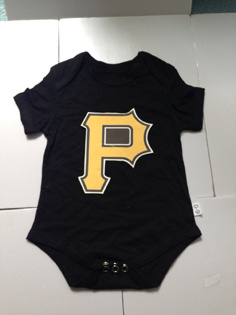 Pittsburgh Pirates Kids Newborn&Infant Gear Black
