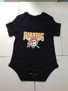 Pittsburgh Pirates MLB Kids Newborn&Infant Gear Black