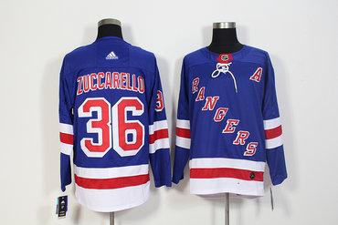 Rangers 36 Mats Zuccarell Blue Adidas Jersey