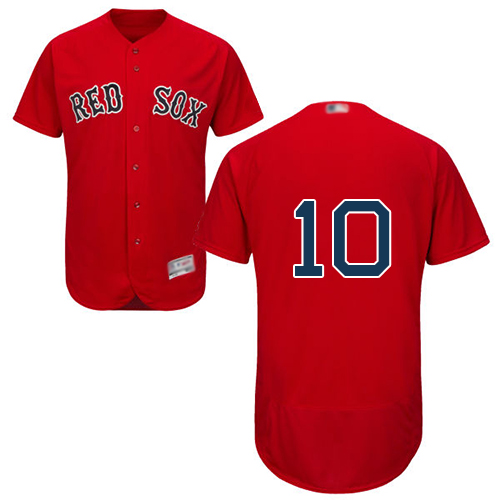 Red Sox #10 David Price Red Flexbase Authentic Collection Stitched Baseball Jersey